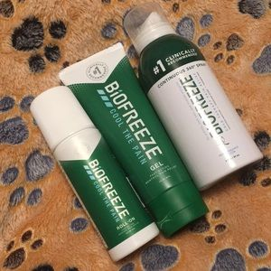 3Different bio freeze products